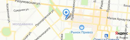 Пальмира ПО на карте Одессы