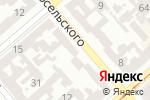 Схема проезда до компании Сеть магазинов горящих путевок в Одессе
