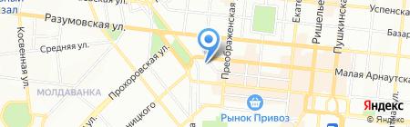 Complektuha на карте Одессы