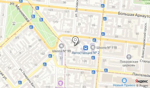 Complektuha. Схема проезда в Одессе