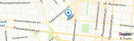 Детский сад-ясли №115 на карте Одессы