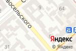 Схема проезда до компании Одесский автомобильно-дорожный колледж в Одессе