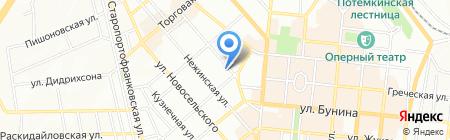 Данко на карте Одессы