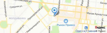 Тара и Упаковка на карте Одессы