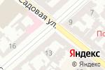 Схема проезда до компании Банкомат, Ощадбанк, ПАТ в Одессе