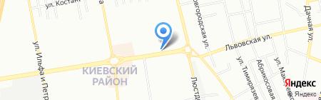 Бергхофф на карте Одессы