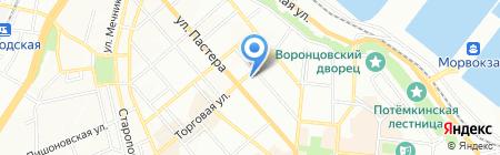 Антарес на карте Одессы