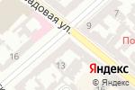 Схема проезда до компании ITsupport в Одессе