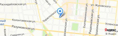 Дункан Тревел на карте Одессы
