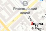 Схема проезда до компании Профистрой Дизайн ЛТД в Одессе