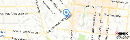 Морской профсоюз на карте Одессы