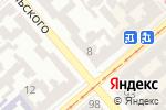 Схема проезда до компании Сервис №1 в Одессе