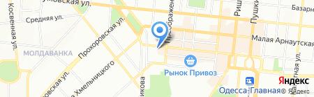 Reebok на карте Одессы