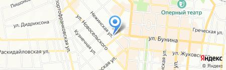 Мануела на карте Одессы