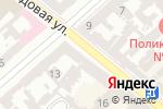 Схема проезда до компании 4В в Одессе