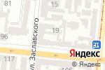 Схема проезда до компании Скарлет-Украина в Одессе