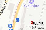 Схема проезда до компании Армис в Одессе
