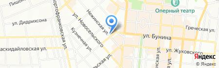 Аверс-Тур на карте Одессы