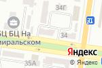Схема проезда до компании Оранта в Одессе