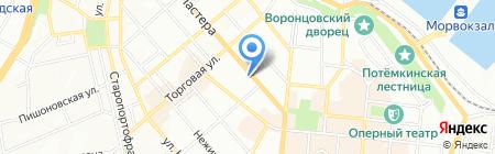 Детский сад-ясли №255 на карте Одессы