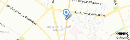 АБ Південний на карте Одессы