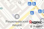 Схема проезда до компании Ришельевский лицей в Одессе