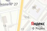 Схема проезда до компании Киор в Одессе