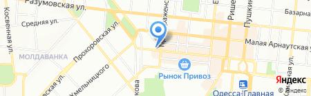 Маэстро на карте Одессы