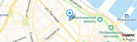 Барбаро на карте Одессы