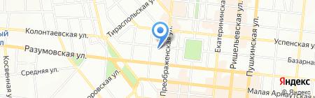 Завиток на карте Одессы