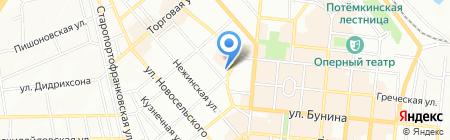 Аптека 17 на карте Одессы