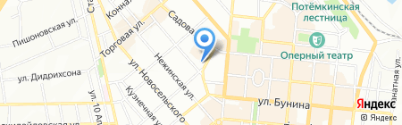Виданта на карте Одессы
