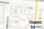 Схема проезда до компании Рубикон Лтд в Одессе