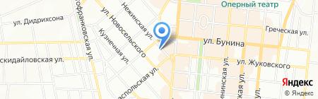 Воздействие ЧП на карте Одессы
