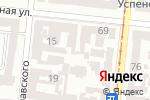 Схема проезда до компании СВЕТИШ в Одессе