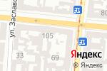 Схема проезда до компании Алмазная заточка в Одессе