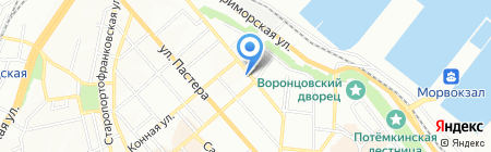 Ukra Manning Ltd на карте Одессы