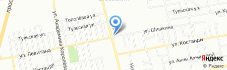 День и ночь на карте Одессы