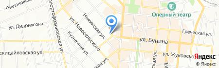 Егоіст на карте Одессы