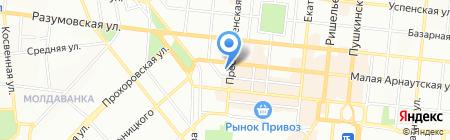 Одесская общеобразовательная школа №118 I-III ступеней на карте Одессы