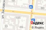 Схема проезда до компании Алайн в Одессе