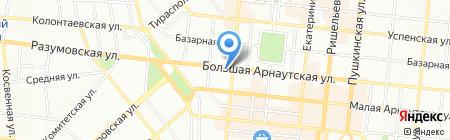 Алайн на карте Одессы