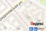 Схема проезда до компании Палитра в Одессе