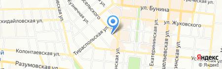 БРИЗМАРИН на карте Одессы