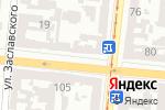 Схема проезда до компании Алоказия в Одессе
