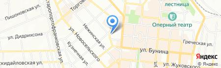 Жизнь на карте Одессы