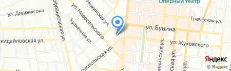 Провідна ПрАТ ПрАТ на карте Одессы