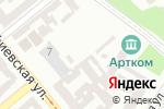 Схема проезда до компании А-3 в Одессе
