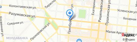 Мобильный мир на карте Одессы