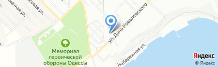 Детский сад №8 на карте Одессы